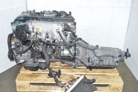 JDM TOYOTA 2JZGTE VVTI TWIN TURBO ENGINE ARISTO NON IMMOBILIZER