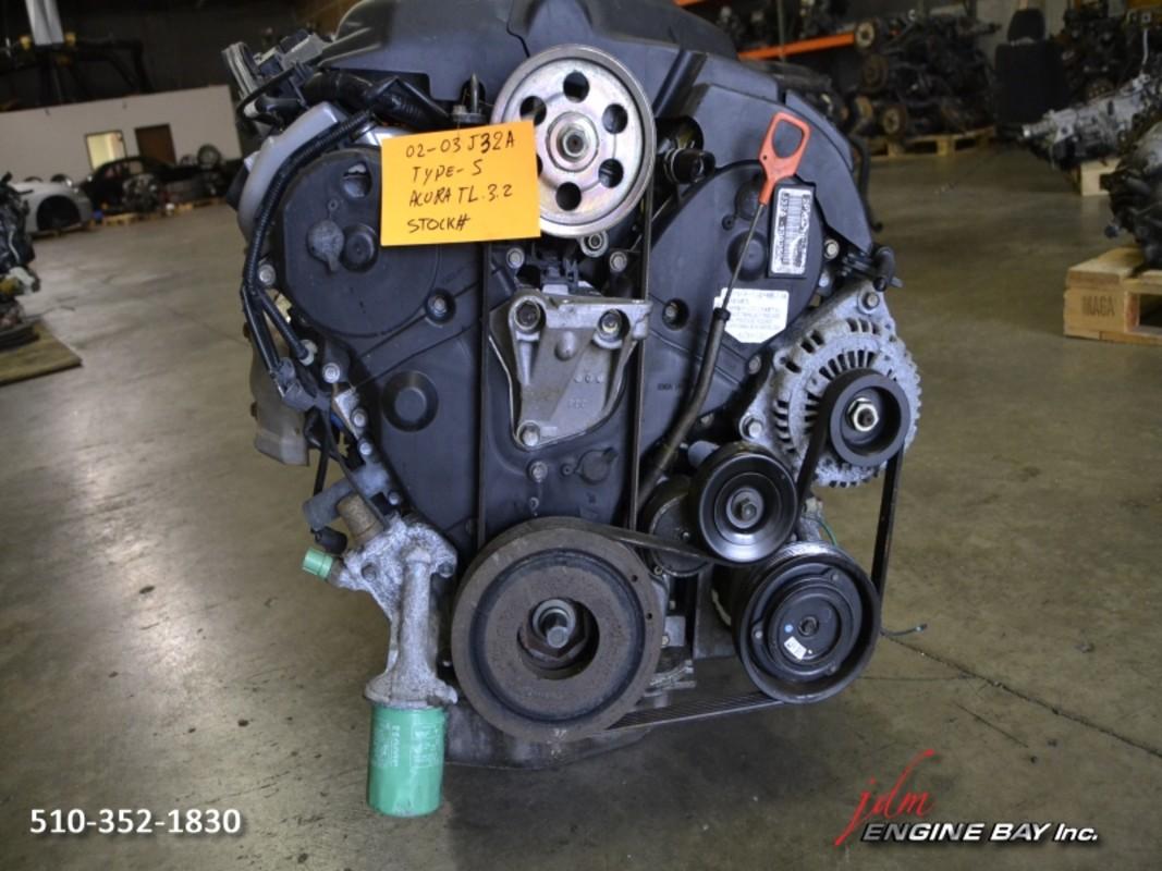 ... JDM J32A2 J32A 3.2L V6 VTEC Engine Acura 3.2 TL Type S 2002-2003 Motor